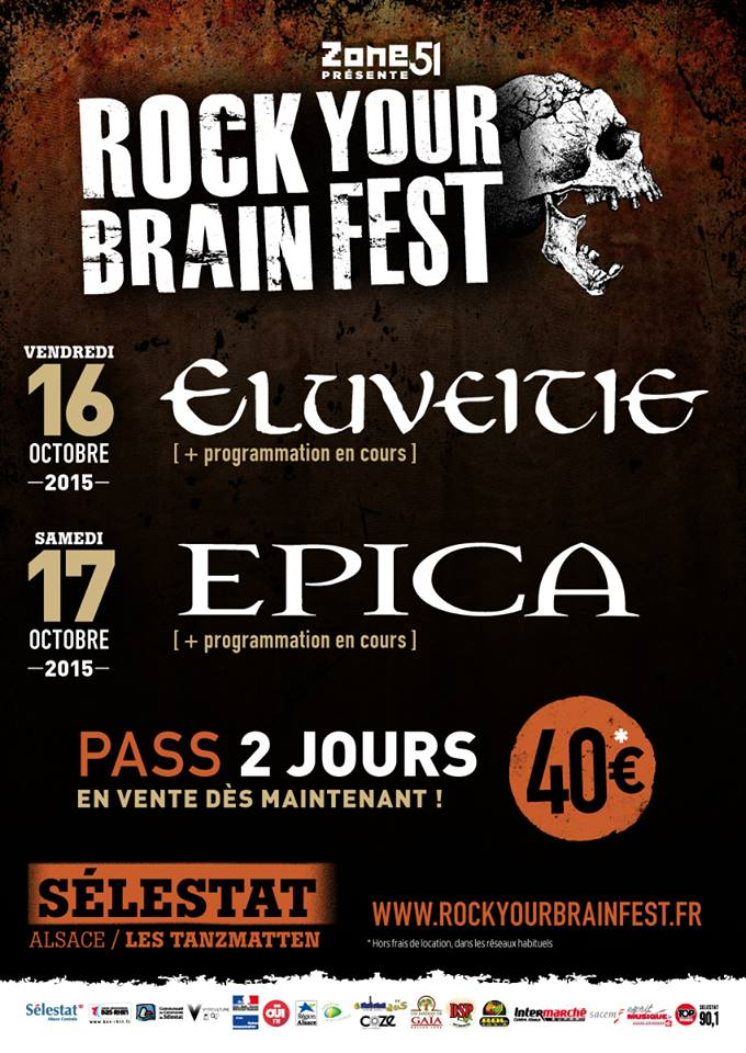 Rock Your Brain Fest Eluveitie Epica