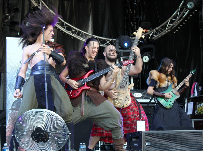 L'été dernier au Ragnard Rock Festival #1