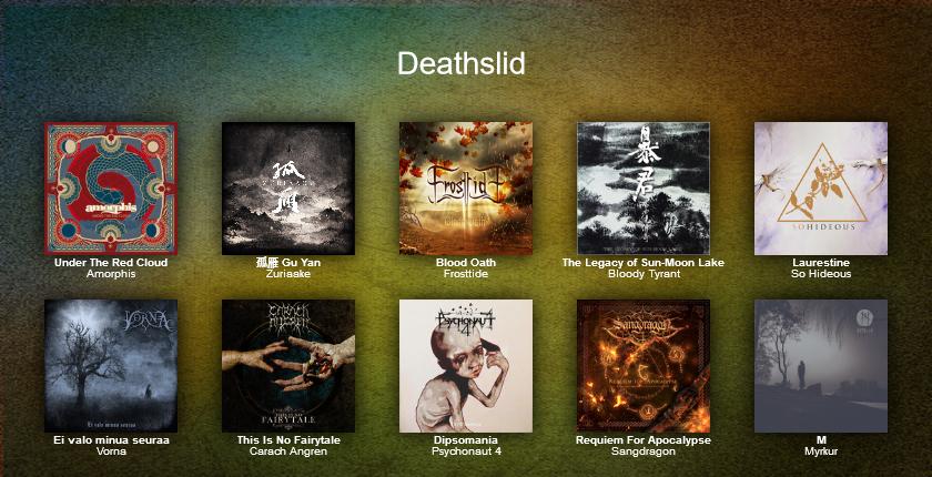 Top 2015 Deathslid