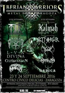 Iberian warriors 2016