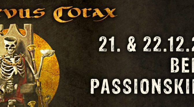 [report] Corvus Corax à la Passionskirche (21 décembre 2018)