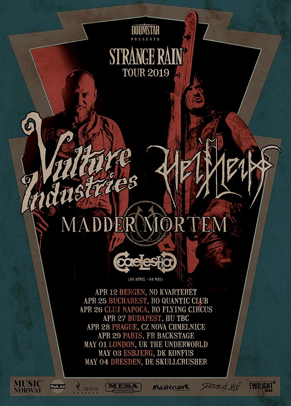Vulture Industries / Helheim // Paris