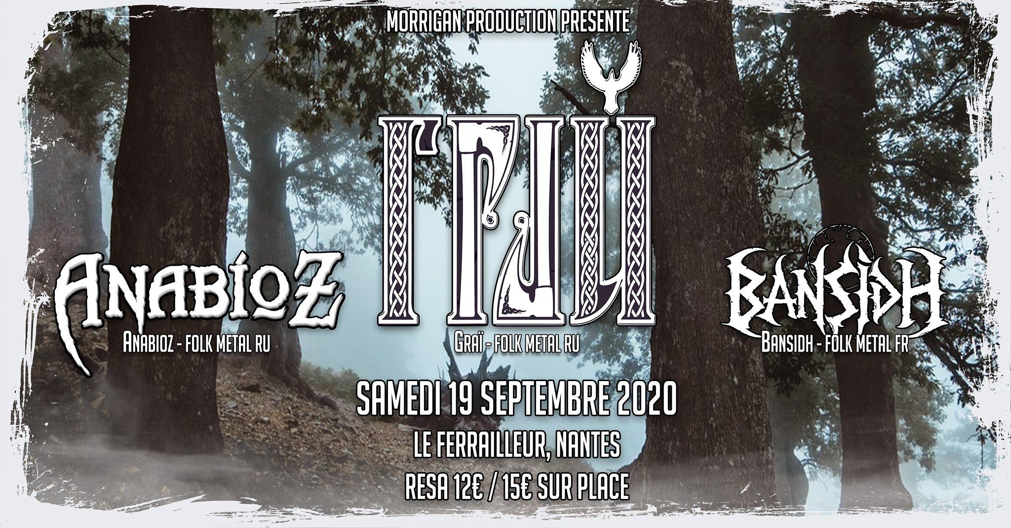 GRAI / Anabioz / Bansidh // Nantes