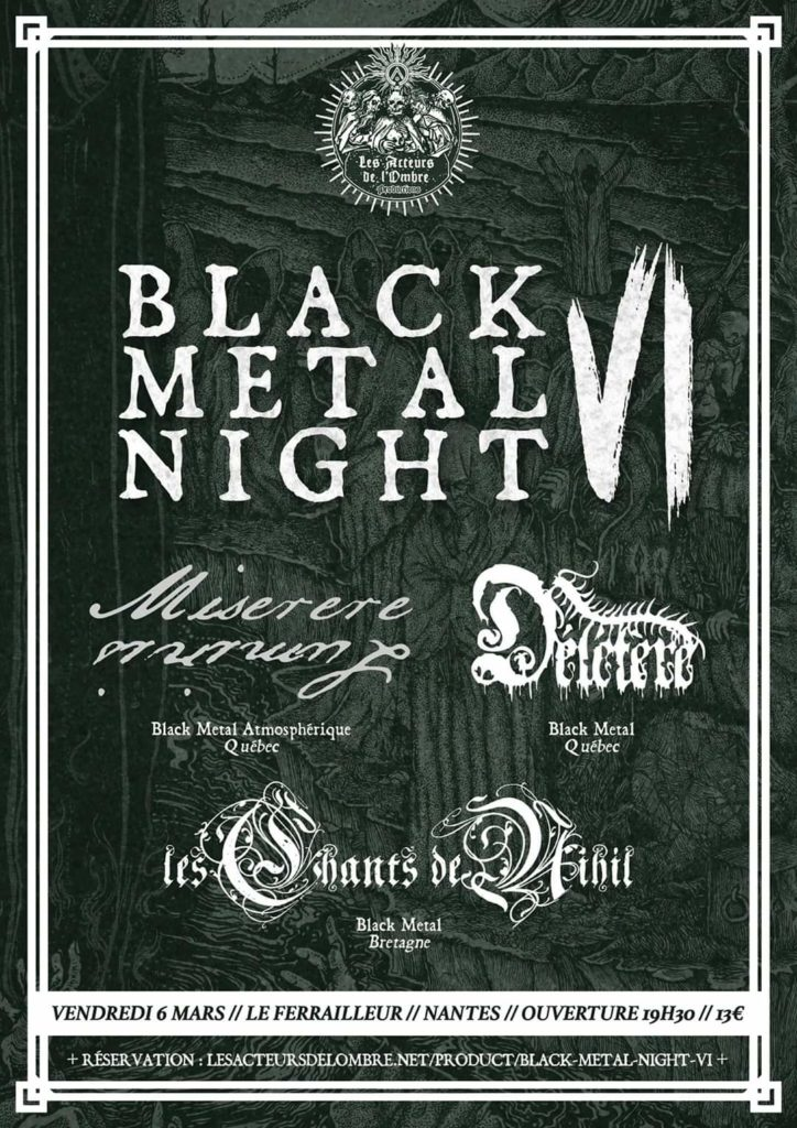 black metal night VI