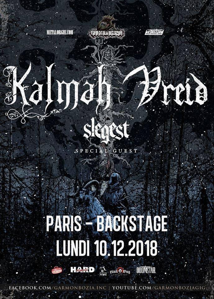Kalmah / Paris