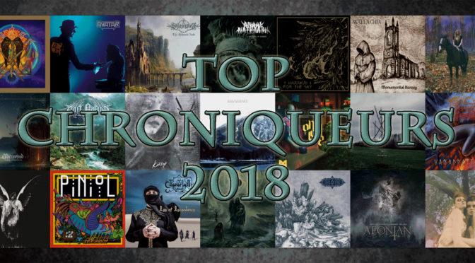 Top Chroniqueurs 2018