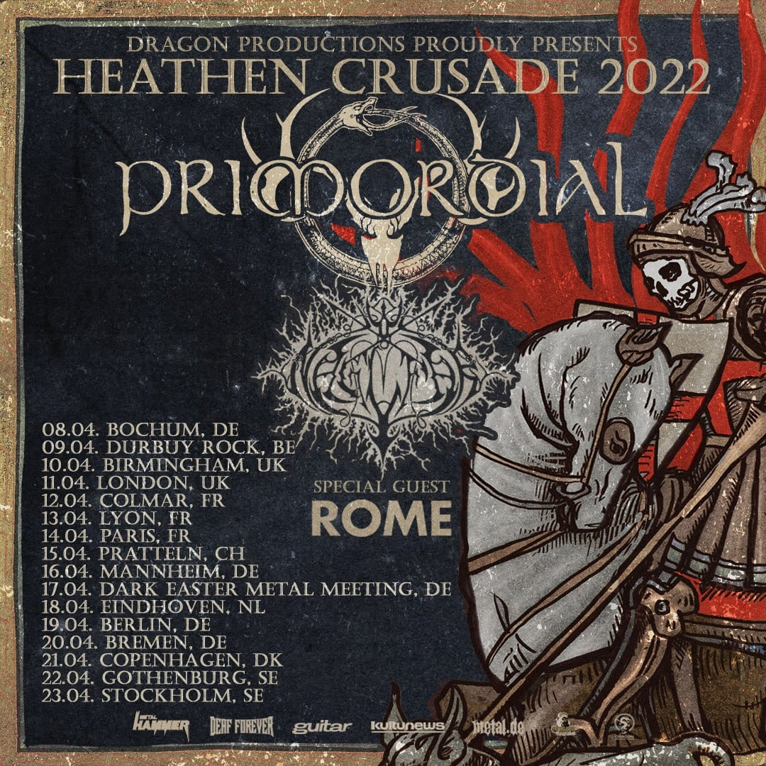 Heathen Crusade III : Primordial / Naglfar / ROME